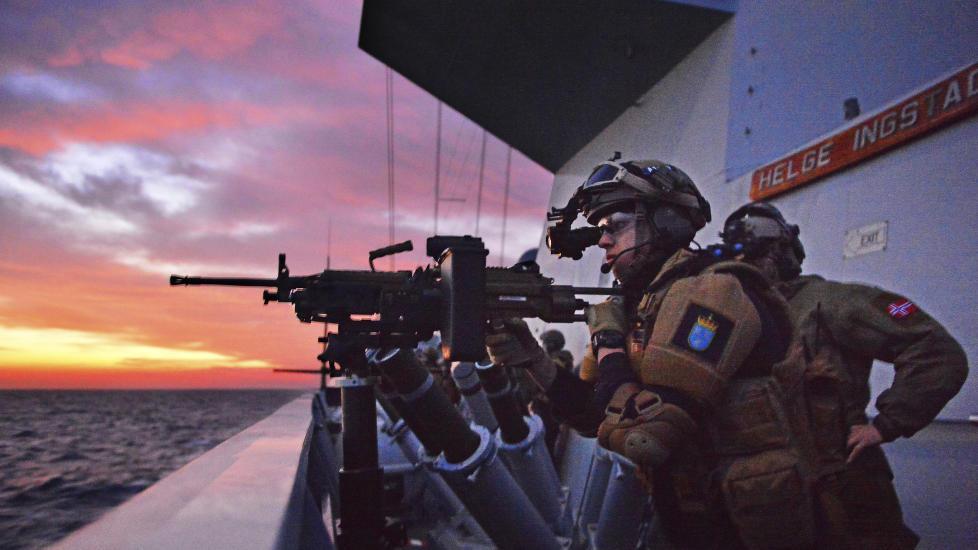 Norsk fregatt skjøt mot islamister - nyheter - Dagbladet.no