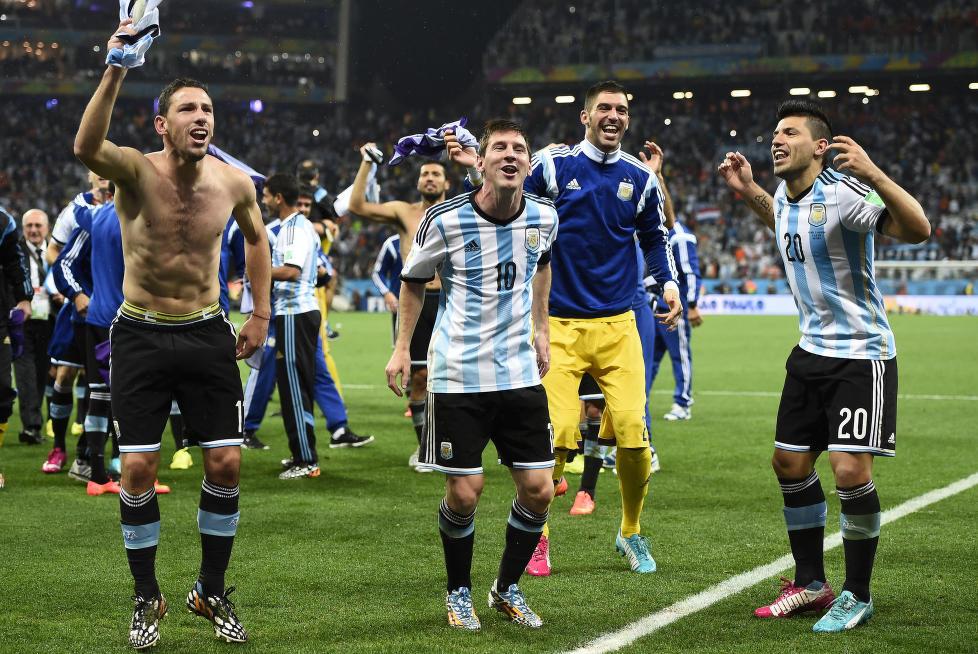 I natt var den beste fotballspilleren bare den gladeste.
