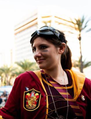 Katie (26) kaller seg verdens st�rste Harry Potter-fan