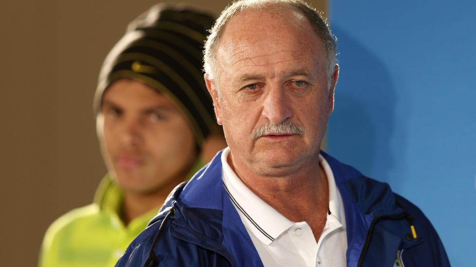 Brasil-sjefen får støtte av fotballpresidenten.