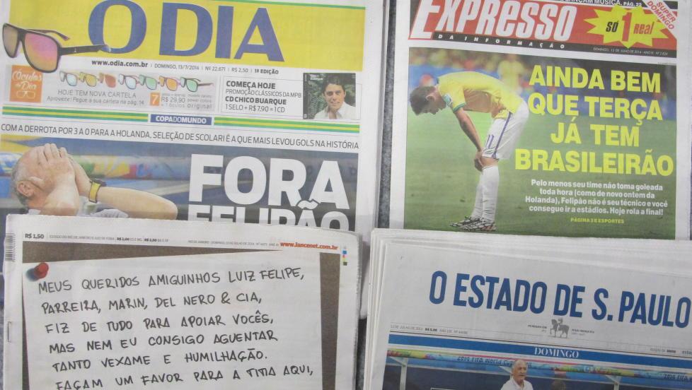 Nådeløse aviser.