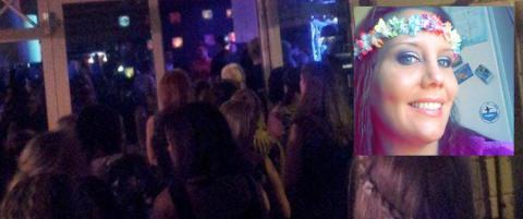 Cecilie snytt for Backstreet Boys-m�te: - Folk knuste glass i raseri. Vaktene r�sket tak i folk og skreik at de skulle holde kjeft
