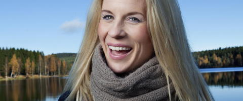 Cathrine Lars�sen blir mamma