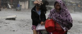 Gravid kvinne blant de som har mistet livet i tyfonen