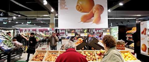 Dette supermarkedet selger frukten ingen andre vil ha