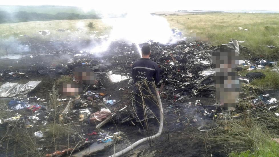 Derfor er flystyrten i Ukraina også en geopolitisk nøtt, skriver Dagbladets Einar Hagvaag.