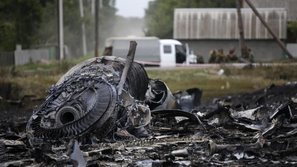 Overbevist om at flyet ble skutt ned.