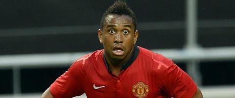 Anderson ble ikke med United-troppen til USA