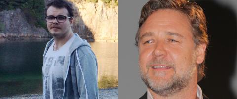 Superstjerna Russell Crowe delte musikkvideoen til norske Christoffer (21)