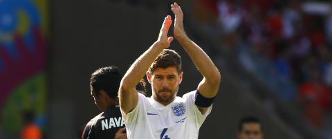 Steven Gerrard gir seg som landslagsspiller
