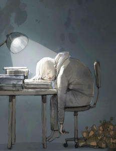 Hvis barnet ditt ikke klarer skolen kan det f�re til mye stress over lang tid