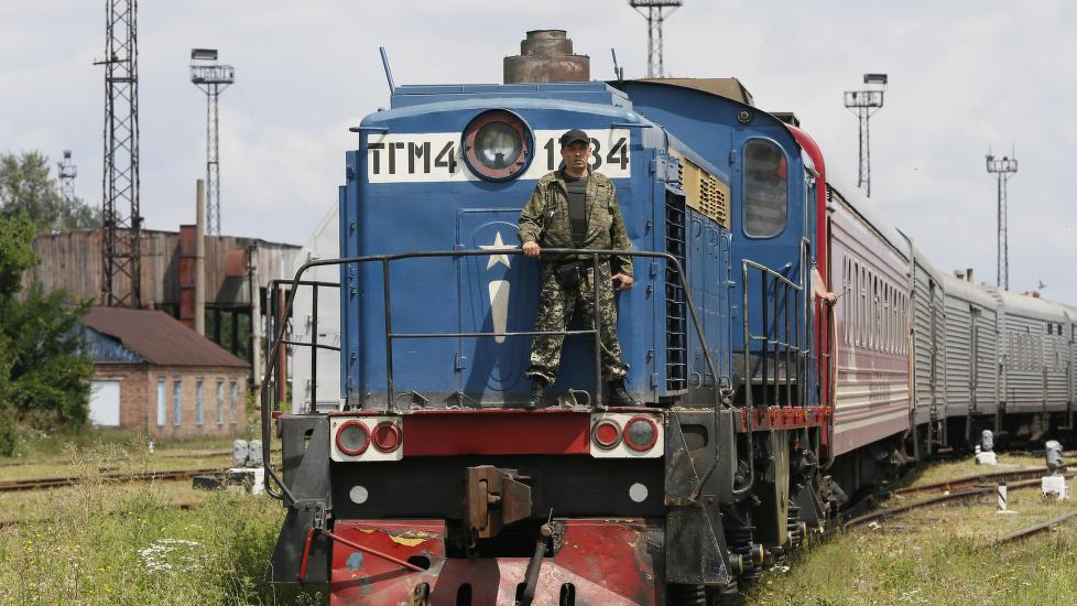 Skulle frakte 282 døde til Kharkiv, men bare 200 har ankommet byen.