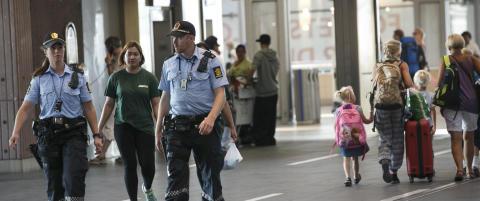 Svensk politi f�lger terror- situasjonen i Norge n�ye