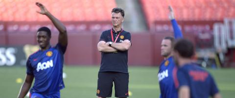 United-boss van Gaal: - Ingen panikkj�p