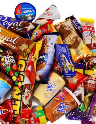 Noen inneholder like mange kalorier som en hel middag