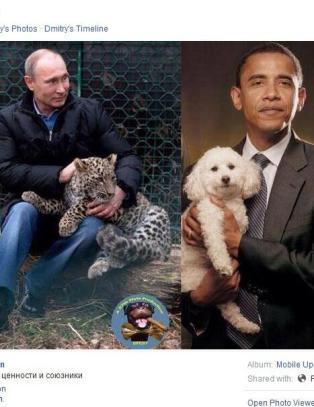 Russlands visestatsminister mobber �puddel�-Obama med leopardtemmende macho-Putin