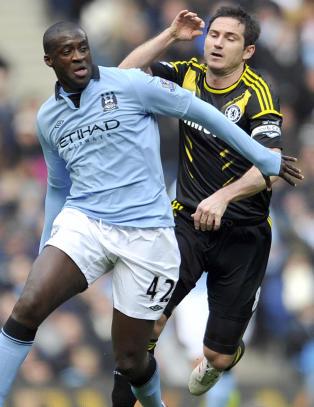 - Lampard ville aldri spilt for City
