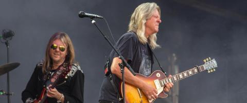 Rocken huskes best fra bluesfestivalen. Det er et problem
