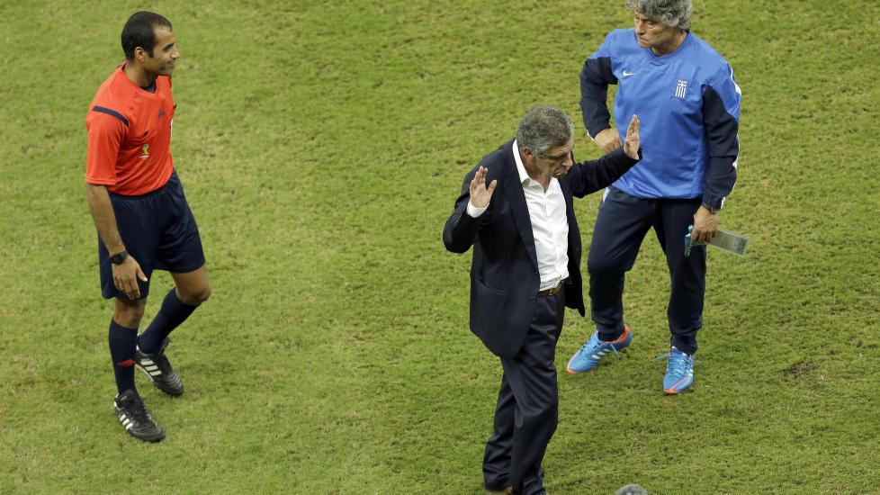 Hellas' VM-trener Fernando Santos.