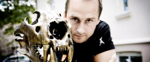 Daniel Franck fra sn�brett til billedkunstner