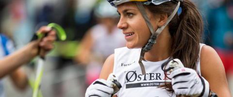 Sommervarmen i Norge gjorde Heidi Weng svimmel