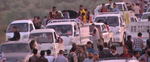Obama vurderer luftangrep mot ISIL