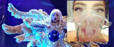 Lady Gaga sendt til sykehus etter konsert