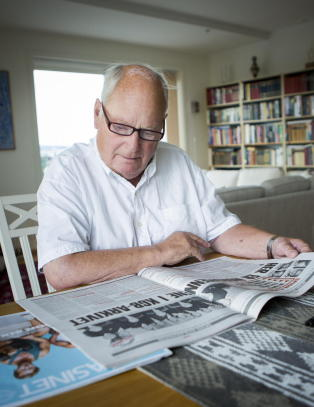 Einar Gerhardsens s�nn: - Faren min ville kastet dem ut