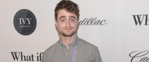 Innr�mmer at han �ikke var god� som Harry Potter