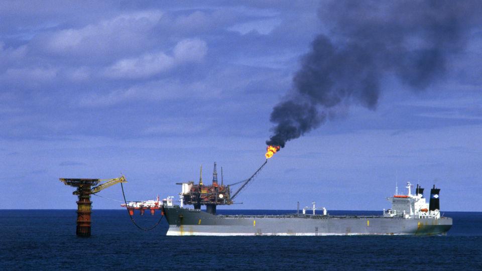 на нефтяных платформах?