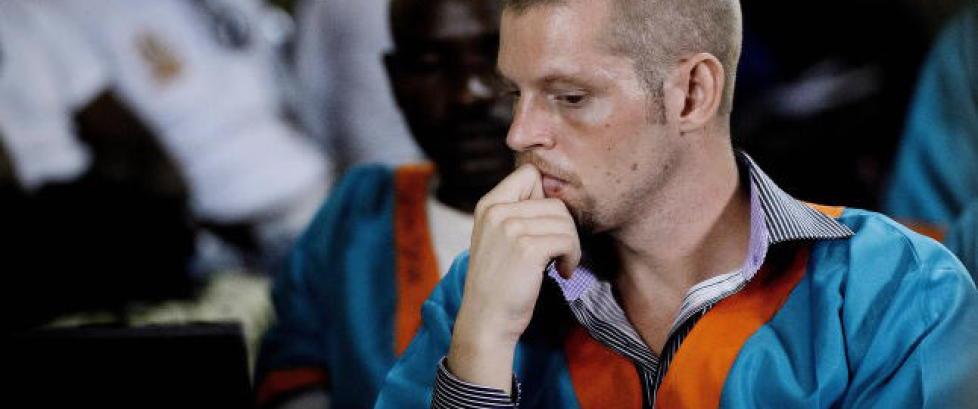 SISTE: Joshua French pågrepet på åpen gate i Kongo