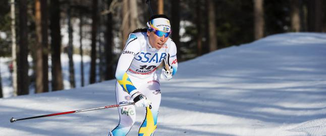Charlotte Kalla dropper Tour de Ski f�r VM p� hjemmebane