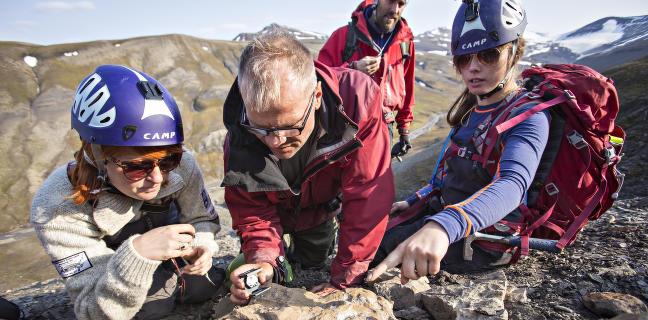 Jakten p� monster��glen p� Svalbard