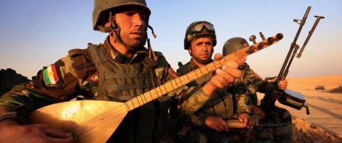 Et lite till�p til ro i heksegryta Irak