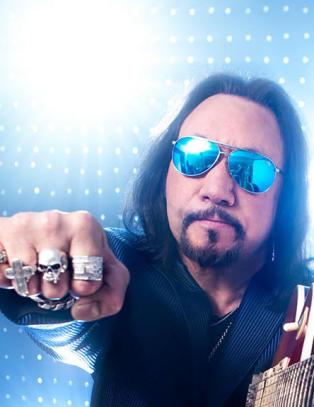Kiss-gitarist uten bakkekontakt