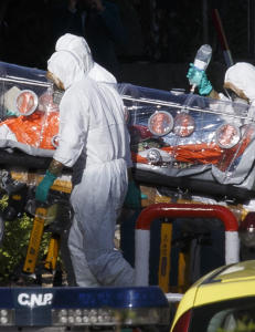 Nigerianer i karantene i Spania etter ebola-mistanke