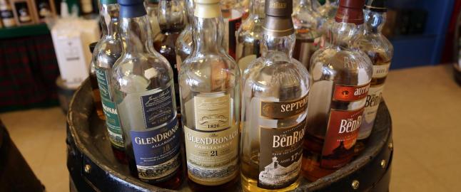Den beste whiskyen har delt noe med englene