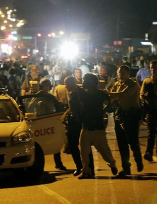 To skutt i nye Ferguson-oppt�yer