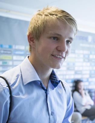 Martin �degaard (15) er tatt ut p� landslaget