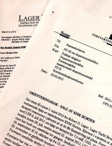 Nekter for � ha kjent til Libya-kontrakt