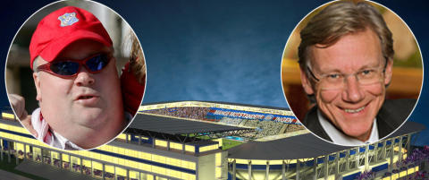 H�yre-topp investerte to millioner i Lyn. N� vil han bremse VIFs stadionplan