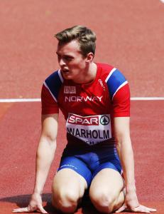 Med denne 18-�ringen blir norsk friidrett ingen fiasko