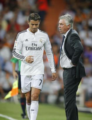 Ancelotti toner ned Ronaldo-skade