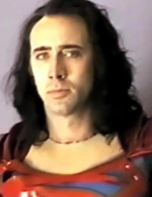 Nicolas Cage kunne v�rt en langh�ra Supermann i psykedelisk disco-lysdrakt