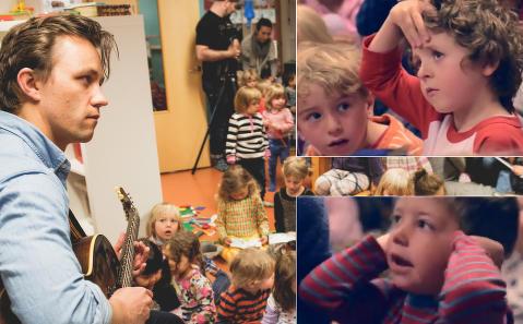 Sondre Lerches barne�hage�stunt vekker internasjonal oppsikt