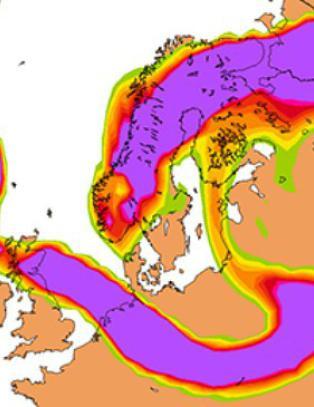 Yr.no: Hele Norge kan dekkes av aske i l�pet av to dager