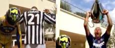 Her kaster Materazzi seg p� trenden - og sender et stikk til Zidane
