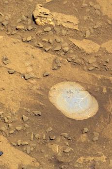 Mars-rover klar for � drille i �brustein�