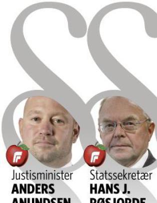 Disse sju Frp-mennene styrer Justis-Norge. -Uheldig