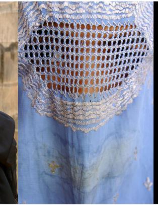 Niqab og burka er dei ultimate symbola p� kvinneundertrykkjing og kvinneforakt